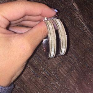 Sofia Vergera hoop earrings from Kay's